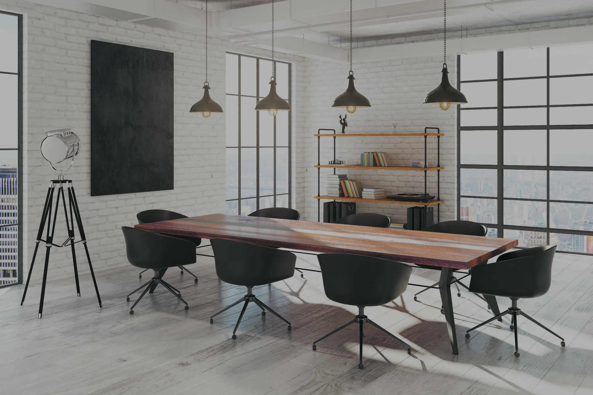 Image d un bureau avec vue